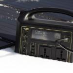 Солнечная панель TOP-SOLAR 100W 18V DC, 2 USB, влагозащищенная, складная на 5 секций