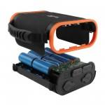 Внешний аккумулятор TopON TOP-X100 96000mAh USB Type-C PD 60W, USB1 QC3.0, USB2 12W, 2 авторозетки 180W, фонарь, защита от брызг, LiFePO4. Черный