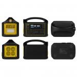 Внешний аккумулятор TopON TOP-X220 160800mAh, 2 AC 220V 300W, DC1 5V-24V 80W, DC2/DC3 60W, XT30, 2 Type-C PD 60W/18W, USB1/USB2 QC3.0, фонарь. Черный