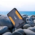 Внешний аккумулятор TopON TOP-X38 38000mAh 3 USB-порта, автомобильная розетка 12V 15A 180W, аварийный свет, фонарь, защита от пыли и брызг. Черный