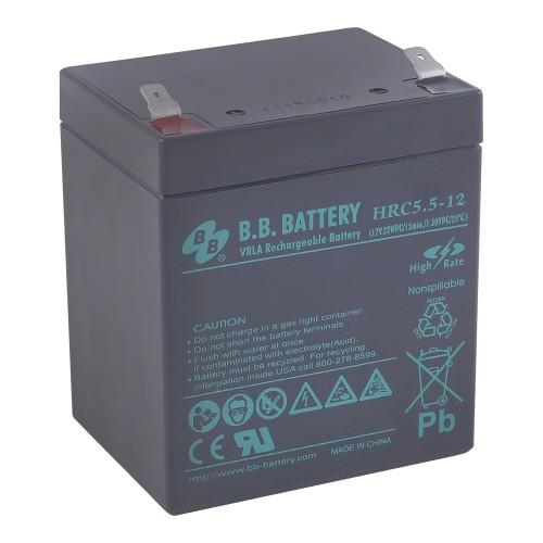 Аккумуляторная батарея В.В.Battery HRС 5,5-12