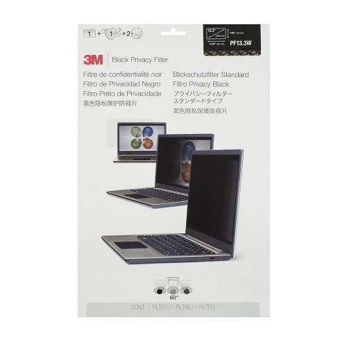 Экран (фильтр) защиты информации для монитора, 13.3 (widescreen), черный, 16:10