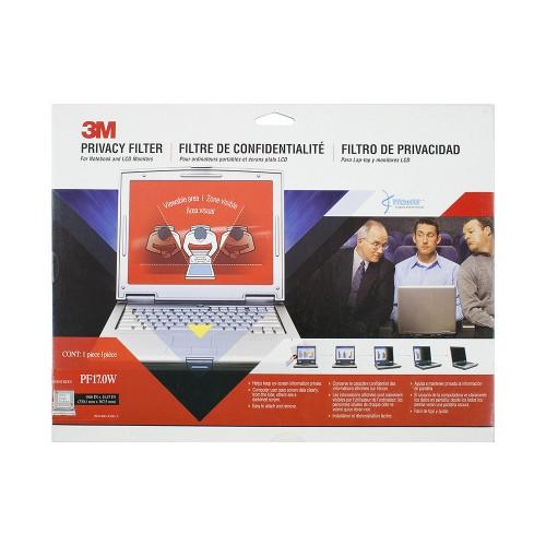 Экран (фильтр) защиты информации для монитора, 17.0 (widescreen), черный, 16:10