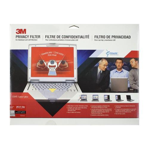 Экран (фильтр) защиты информации для монитора, 17.3 (widescreen), черный, 16:9