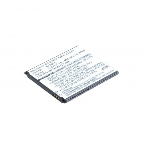 АКБ Li-Ion B100AE для Samsung GT-S7270, GT-S7272, S7275 Galaxy Ace 3, S7898 3.7V 1500mAh