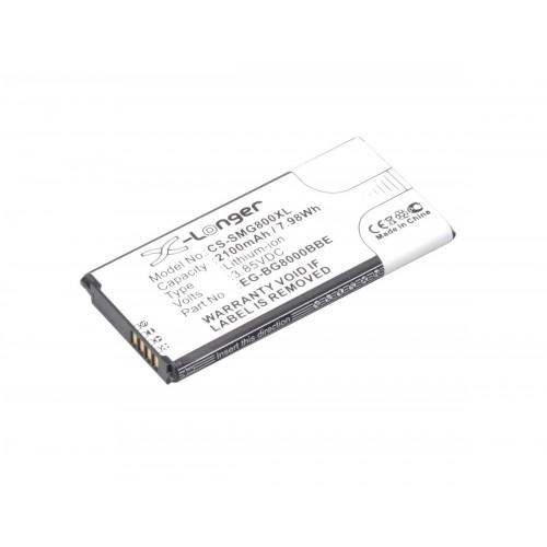 АКБ Li-Ion EG-BG800BBE для Samsung Galaxy S5 Mini SM-G800F/SM-G800H/SM-G800Y 3.85V 2100mAh