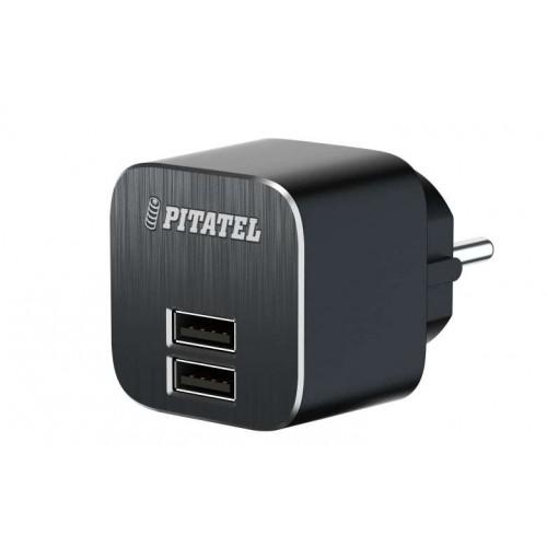 Сетевое ЗУ Pitatel PowerCube2, 2xUSB 3.1A (TPA-HCPC2)
