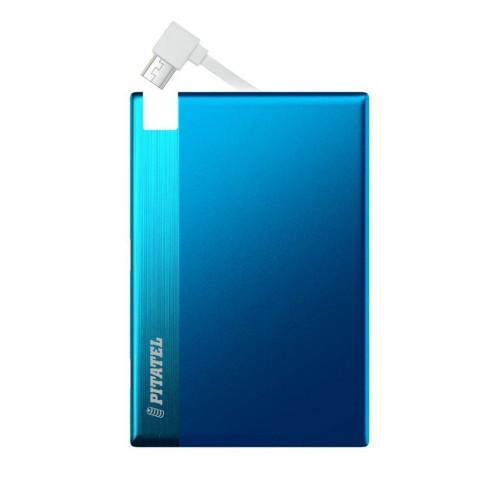 Внешний аккумулятор Pitatel MICRO-M2, microUSB, 1350mAh, синий (PPB-M2.1BL)