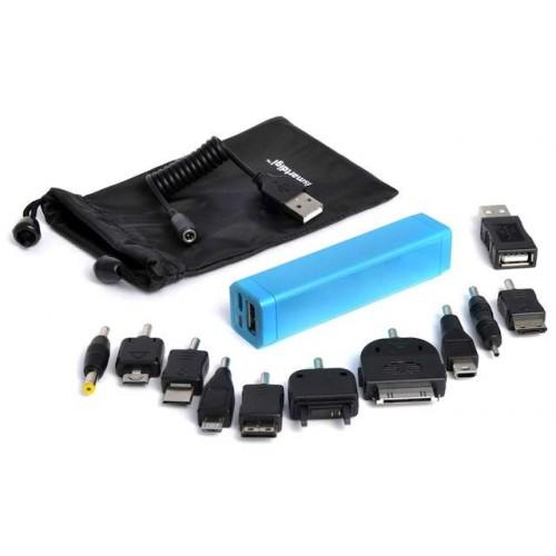 Универсальный аккумулятор Li-Ion для КПК/Телефонов iSmartDigi Energy Air S, 2600mAh,blue