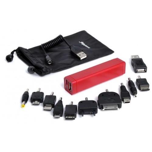 Универсальный аккумулятор Li-Ion для КПК/Телефонов iSmartDigi Energy Air S, 2600mAh,red