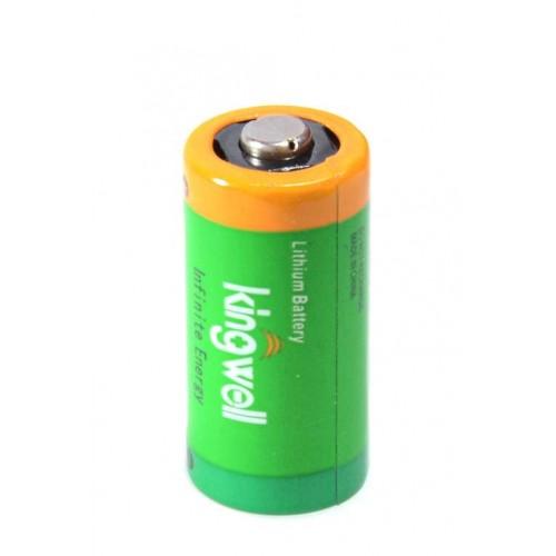 Батарейка Kingwell CR123A 3.0V 1500mAh