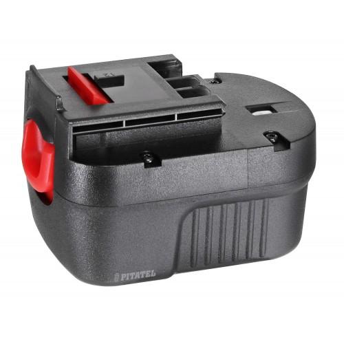 АКБ Ni-Cd 12V 2.0Ah для инструмента BLACK&DECKER A12, A12EX, A12-XJ, FS120B, FSB12, HPB12, 912B.H