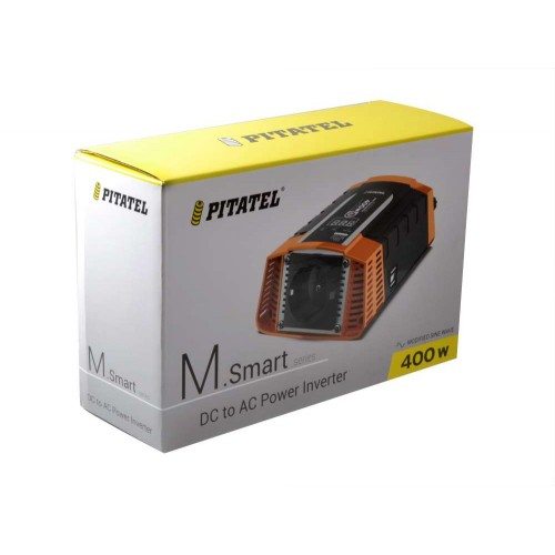 Инвертор Pitatel KV-M400SmartD.12 (12V220V, модифицированный синус, 400W)