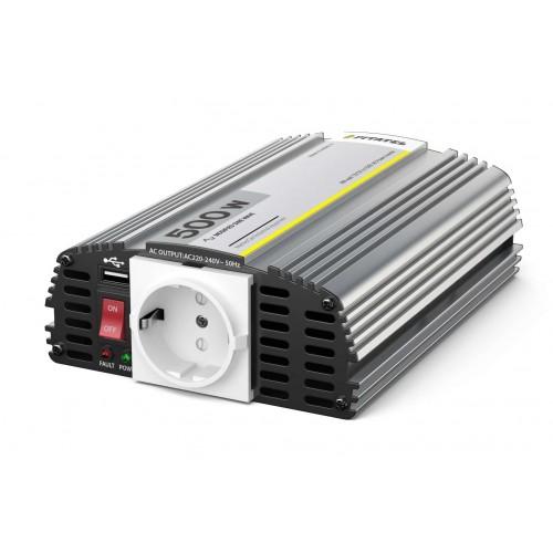 Инвертор Pitatel KV-M500U.12 (12V220V, модифицированный синус, 500W)