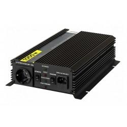 Инвертор Pitatel KV-MU1000.12 (12V220V, модифицированный синус, ИБП, 1000W)