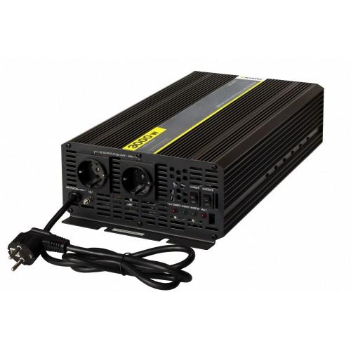 Инвертор Pitatel KV-MU3000.12 (12V220V, модифицированный синус, ИБП, 3000W)