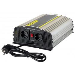 Инвертор Pitatel KV-PU1000.12 (12V220V, чистый синус, ИБП, 1000W)