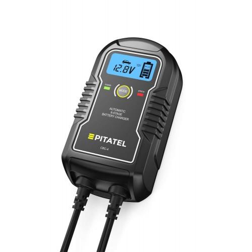 Автоматическое ЗУ для автомобильных аккумуляторов Pitatel CBC-4 (6/12В, 4А)