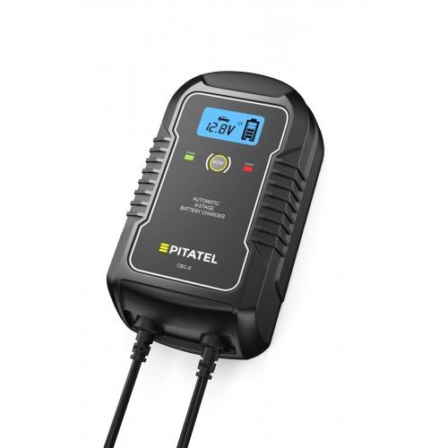 Автоматическое ЗУ для автомобильных аккумуляторов Pitatel CBC-8 (6/12В, 8А)