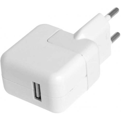 Зарядное устройство для Apple iPad/iPhone/iPod 5.1V 2.1A 10W, белый