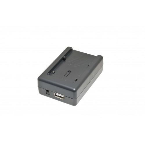 ЗУ ISWC-001-11 (+USB) для Canon BP-911, Panasonic CGA-DU06,