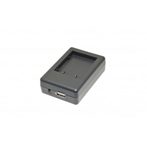 ЗУ ISWC-001-21 (+USB) для JVC BN-V712U/BN-V714U