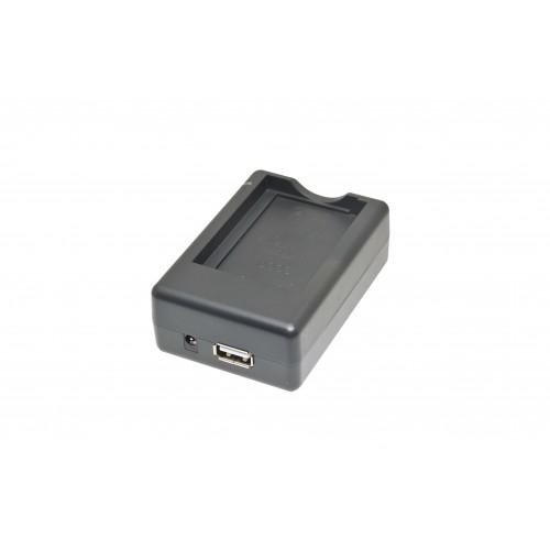 ЗУ ISWC-001-31 (+USB) для Nikon EN-EL9, Olympus BLS-1/BLS-5