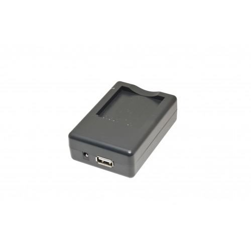 ЗУ ISWC-001-60 (+USB) для Casio NP-60, Samsung SLB-07A