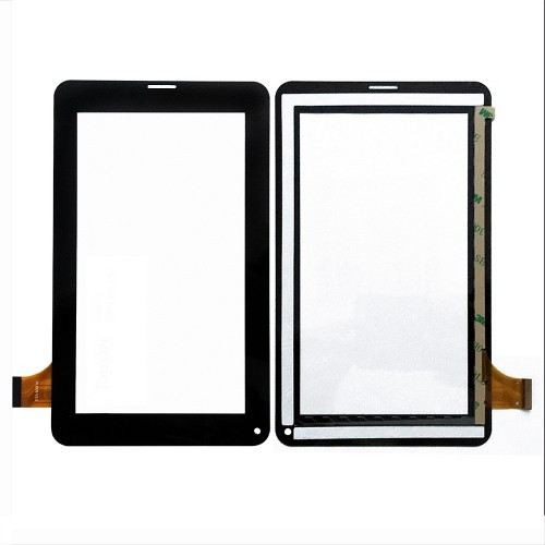 Сенсорное стекло, тачскрин для планшета Explay N1 Plus, Digma Optima 7.1, 7 1024x600. PN: HH-PG070-002A -HRT. Черный.