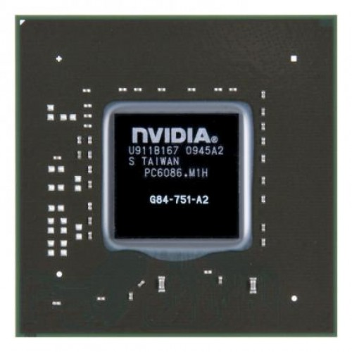 Видеочип nVidia GeForce 8700M GT, G84-751-A2 (2012)