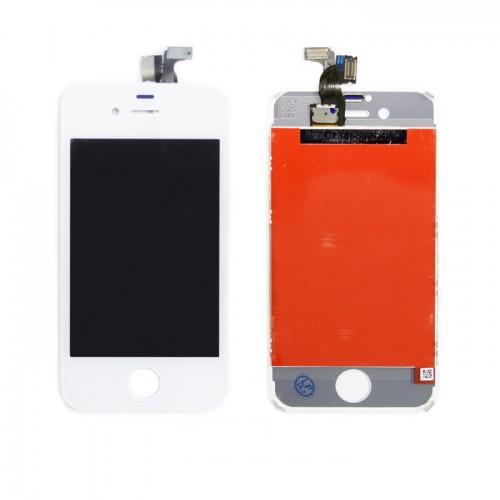 Матрица и тачскрин (сенсорное стекло) для смартфона Apple iPhone 4S A+. Белый.