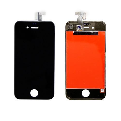 Матрица и тачскрин (сенсорное стекло) для смартфона Apple iPhone 4S A+. Черный.