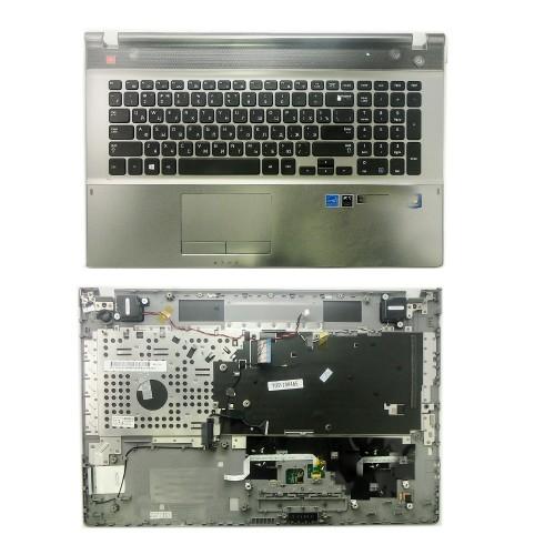 Клавиатура для ноутбука  Samsung NP550P7C Series. Черная, c topcase.