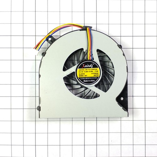 Вентилятор (кулер) для ноутбука Toshiba Satellite C850, C855, C875, C870, L850, L870, 4 pin