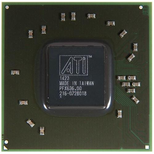Видеочип AMD Mobility Radeon HD 4550, 216-0728018, 100-CG2499 (2011)