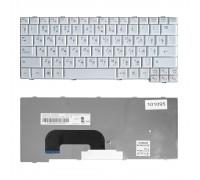 Клавиатура для ноутбука Lenovo IdeaPad S12 Series. Плоский Enter. Белая, без рамки. PN: 25-008393.