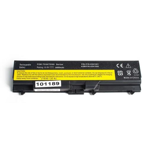 Аккумулятор для ноутбука Lenovo T410, T420, W510, W520 Series. 10.8V 4400mAh PN: 42T4235, 42T4702