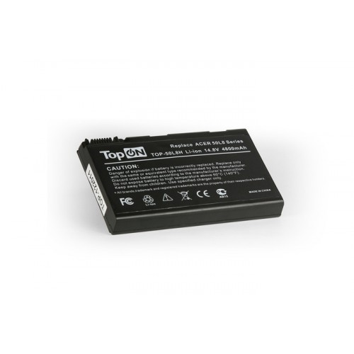 Аккумулятор для ноутбука Acer Aspire 3690, 5110, 5680, TravelMate 2490, 3900, 4230 Series. 14.8V 4800mAh PN: BT.00803.005, BATCL50L8