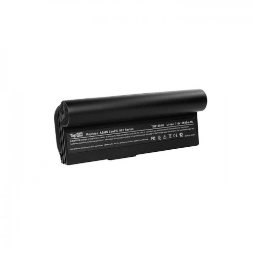 Аккумулятор для ноутбука Asus Eee PC 901 GO, 904, 1000, 1000H, Series. 7.4V 6600mAh 49Wh, усиленный. PN: AL23-901, AL24-1000