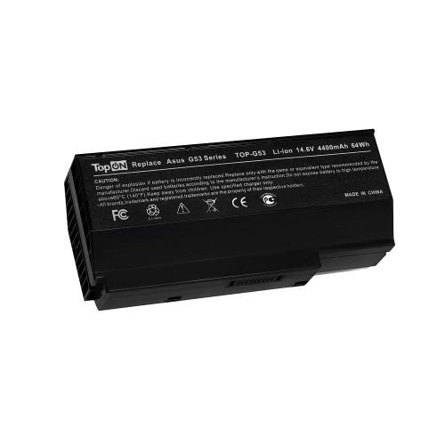 Аккумулятор для ноутбука Asus G53, G73, VX7 Series. 14.6V 4400mAh 64Wh. PN: A42-G73, 90-NY81B1000Y
