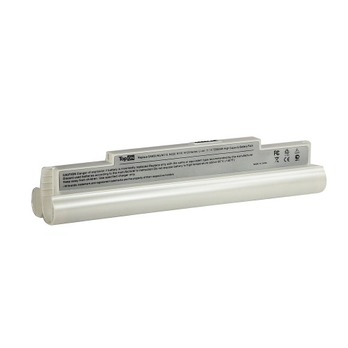 Аккумулятор для ноутбука Samsung NC10, NC20, N110 Series. 11.1V 7200mAh 80wh, усиленный. PN: PL8NC6W, AA-PB8NC6B. Белый