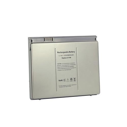 Аккумулятор для ноутбука Apple MacBook Pro 17 Series. 10.8V 6000mAh 71Wh, усиленный. PN: A1189, MA458G/A