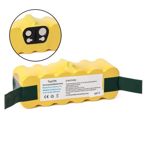 Аккумулятор для робота-пылесоса iRobot Roomba 500, 600, 700, 800, 900 Series. 14.4V 2500mAh Ni-MH. PN: 80501, GD-ROOMBA-500, VAC-500NMH-33.