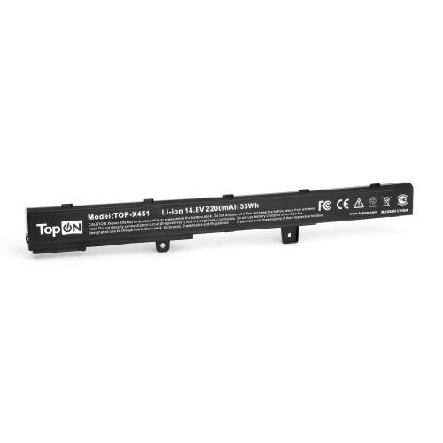 Аккумулятор для ноутбука Asus A41, A551C, D450C, F451C, P451C, R411C, X451 Series. 14.4V 2200mAh 32Wh. PN: ASX551L7, A41N1308.