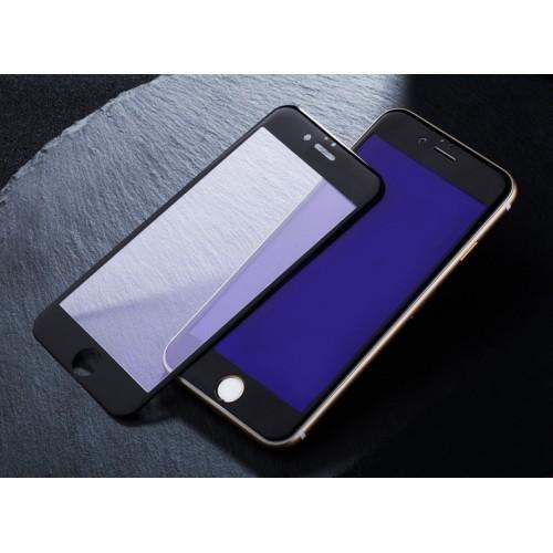 Защитное 3D стекло на экран для Apple iPhone 6 с антибликовым и олеофобным покрытием Цвет черный