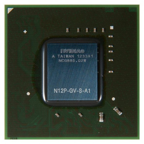 Видеочип nVidia GeForce GT 520M, N12P-GV-S-A1