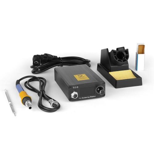 Цифровая паяльная станция Dsk T12-D OLED на 72W для работы со сменными жалами HAKKO T12 и T2 Series.