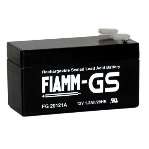 Аккумуляторная батарея для эхолота FIAMM FG 20121A на 12V 1.2Ah (97x42x51mm)