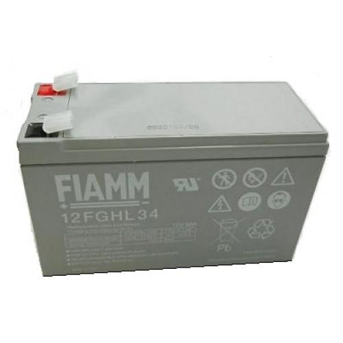Аккумуляторная батарея для эхолота FIAMM 12FGHL34 (FGHL20902) на 12V 9Ah (151x65x94mm)