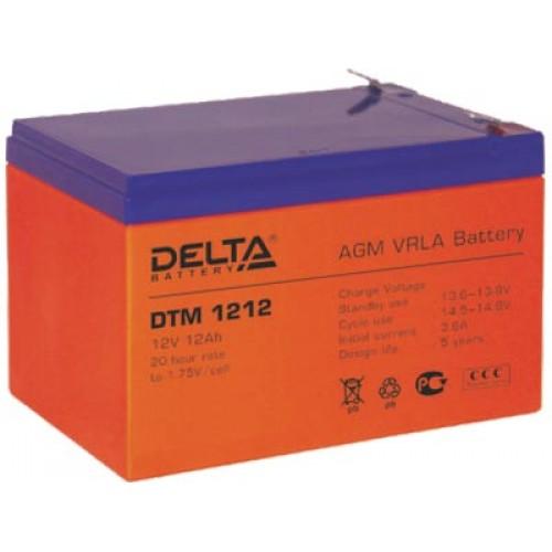 Аккумуляторная батарея для эхолота Delta DTM 1212 на 12V 12Ah (151x98x101mm)